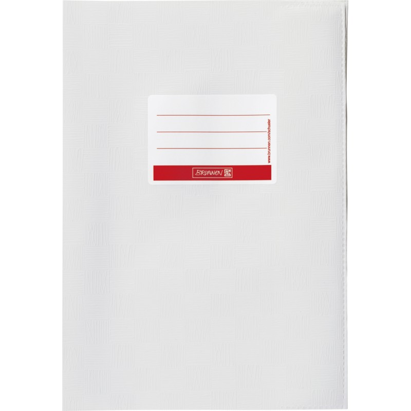 BRUNNEN Hefthülle · DIN A4 · gedeckt · weiß