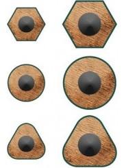 Faber-Castell Dreifachspitzdose GRIP2001 · silber