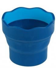 Faber-Castell Wasserbecher CLIC & GO · blau