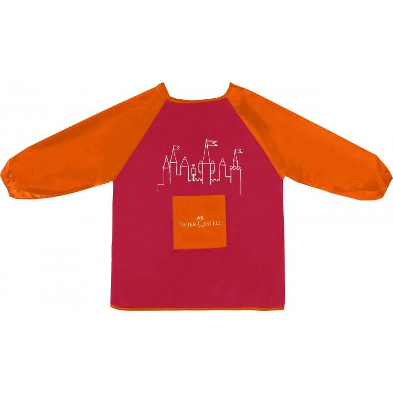 Faber-Castell Malschürze für Kinder rot
