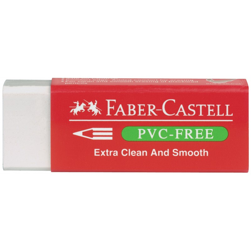 Faber-Castell Radierer 7095 PVC-FREE