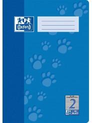 Oxford Schulheft A4 · Lineatur 2 · 90 g/m²  · 16 Blatt