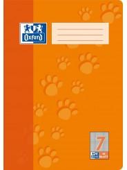 Oxford Schulheft A4 · Lineatur 7 (kariert 7 mm) · 90 g/m² · 16 Blatt
