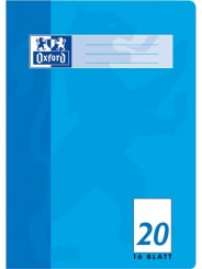 Oxford Schulheft A4 · Lineatur 20 (blanko) · 90 g/m²  · 16 Blatt