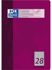 Oxford Schulheft A4 · Lineatur 28 (liniert · beidseitiger Rand) · 90 g/m² · 16 Blatt