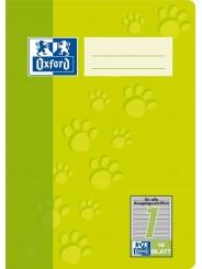 Oxford Schulheft A5 · 16 Blatt · Lineatur 1 · 90 g/m²  · 16 Blatt