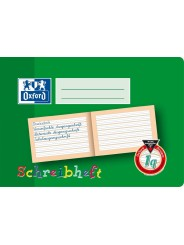 Oxford Schreibheft A5 quer · Lineatur 1q · 90 g/m² · 16 Blatt