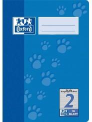 Oxford Schulheft A5 · Lineatur 2 · 90 g/m²  · 16 Blatt