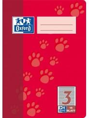 Oxford Schulheft A5 · Lineatur 3 · 90 g/m²  · 16 Blatt