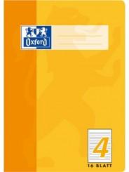 Oxford Schulheft A5 · Lineatur 4 (liniert 9mm) · 90 g/m² · 16 Blatt
