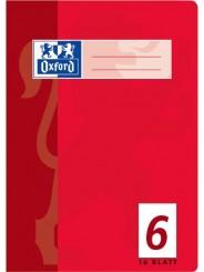 Oxford Schulheft A5 · Lineatur 6 (blanko) · 80 g/m²  · 16 Blatt