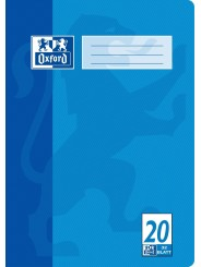 Oxford Doppelheft A4 · Lineatur 20 (blanko) · 90 g/m²  · 32 Blatt
