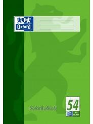 Oxford Vokabelheft A4 · Lineatur 54 (3 Spalten) · 90 g/m²  · 40 Blatt