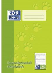 Oxford Hausaufgabenheft Grundschule A5 · 90 g/m² · 24 Blatt