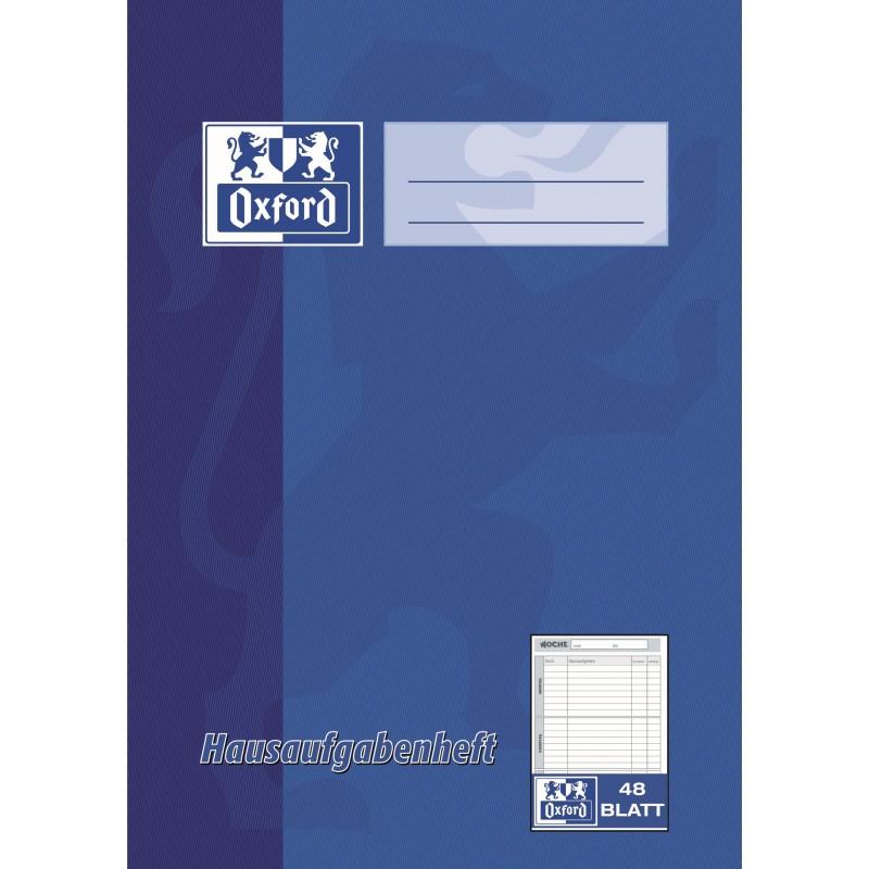 Oxford Hausaufgabenheft 5.-8. Klasse A5 · 90 g/m²  · 48 Blatt