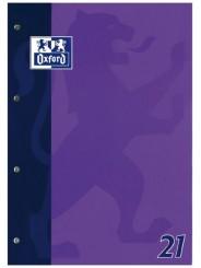Oxford Schulblock A4 · Lineatur 21 (liniert) · 90 g/m² · 50 Blatt