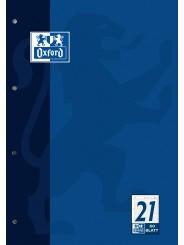 Oxford Arbeitsblock A4 · Lineatur 21 (liniert) · 90 g/m² · 50 Blatt