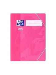 Oxford Jurismappe Oxford by ELBA Touch Oberfläche · A4+ · inkl. 3 Einschlagklappen · rosa
