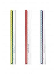 Herlitz Lineal my.pen 30 cm · für Links- und Rechtshänder · 1 Stück Farbe zufällig