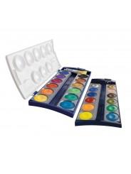 Pelikan Deckfarbkasten 735/K12 · mit 24 Farben + Deckweiß