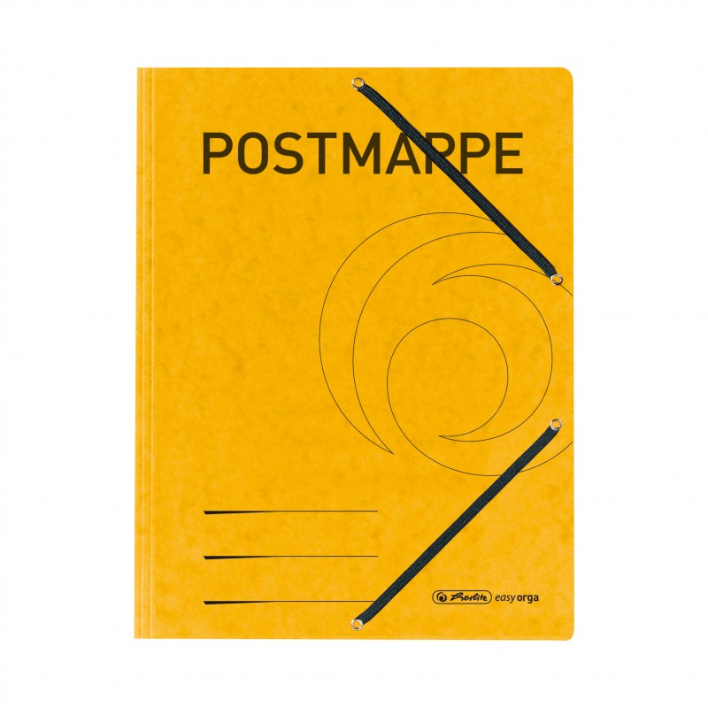 Herlitz Postmappe A4 · starker Colorspan-Karton · 355 g/qm