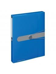 Herlitz Heftsammler A4 PP-Kunststoff · 4 cm easy orga to go · opak blau