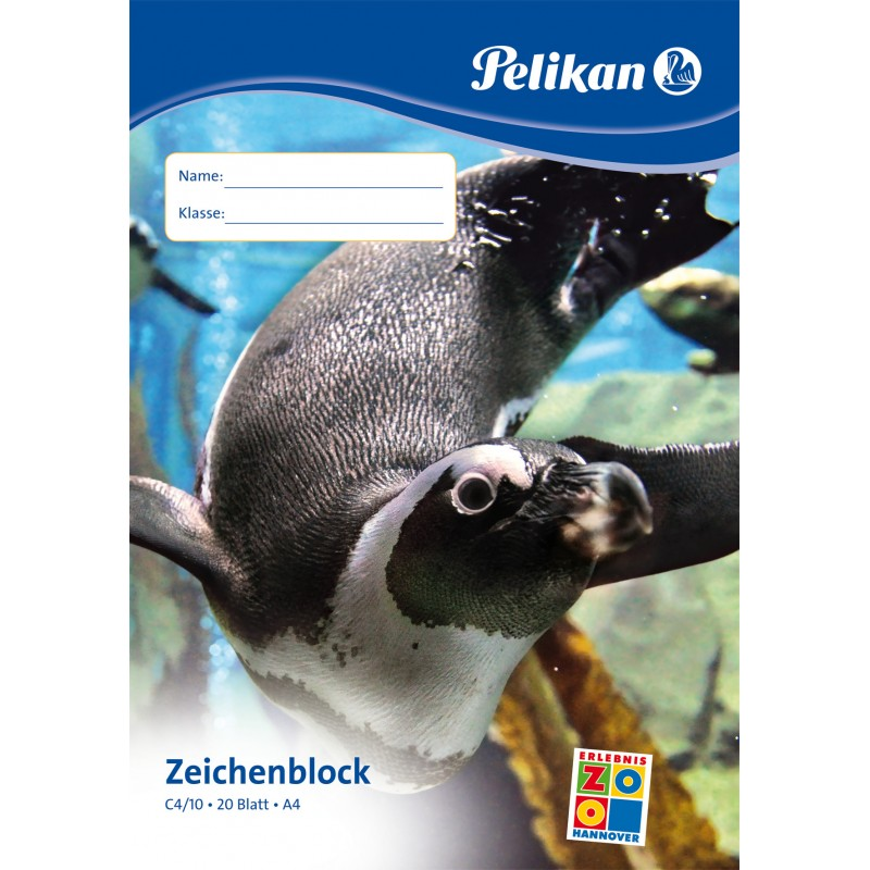 Pelikan Zeichenblock C4/20 · A4 · 100 g/m² ·20 Blatt