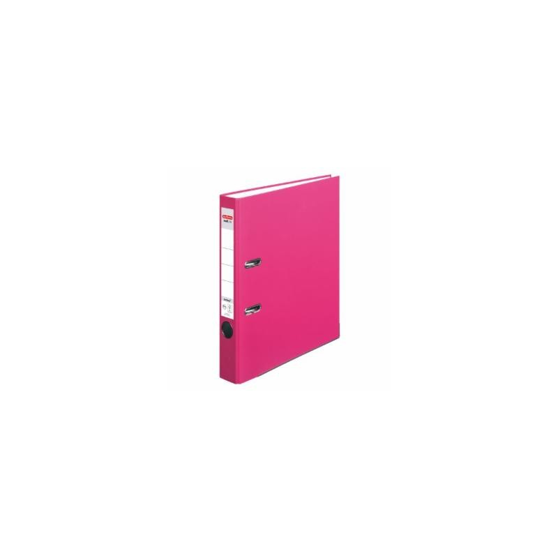 Herlitz Ordner A4 · schmal (5cm)  · maX.file protect · pink