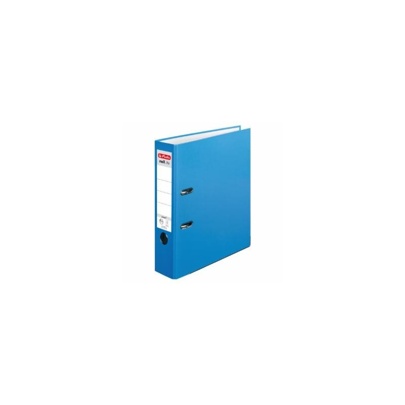 Herlitz Ordner A4 · breit (8cm)  · maX.file protect · acqua