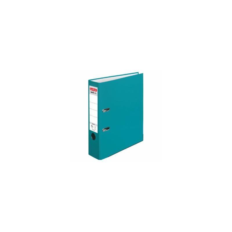 Herlitz Ordner A4 · breit (8cm)  · maX.file protect · türkis