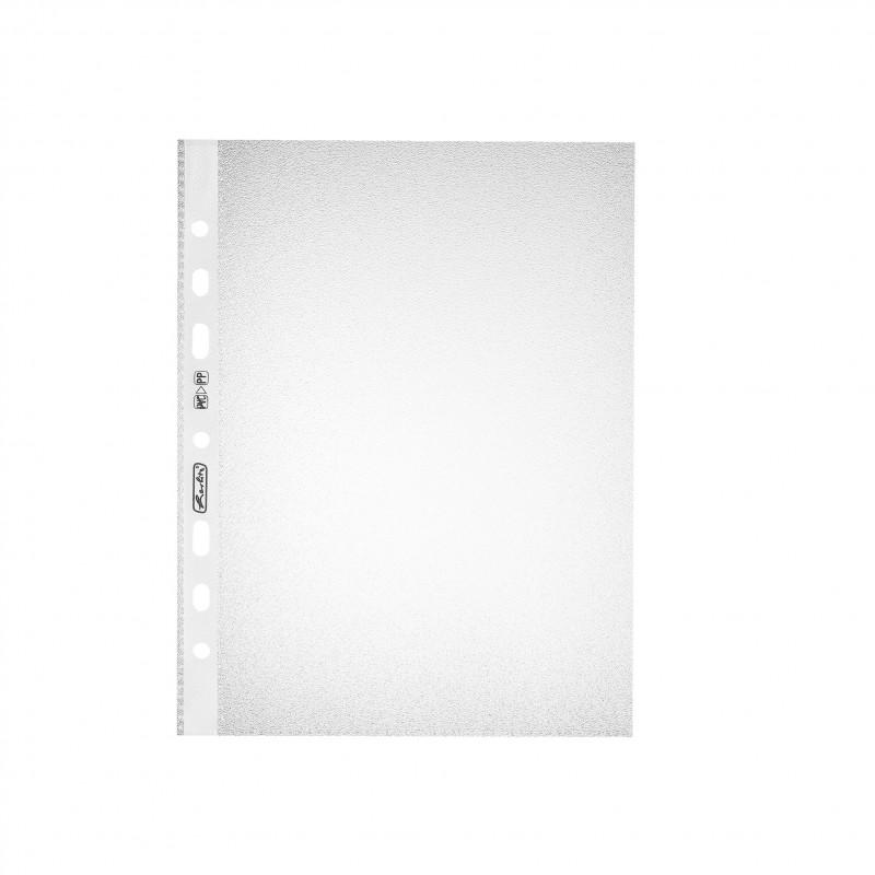 Herlitz Prospekthülle · A5 · Standard · genarbt · 10 Stück
