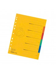 Herlitz Register · DIN A4 · Colorspan XXL ·  6-teilig · 265 g/m² · 240 x 297 mm