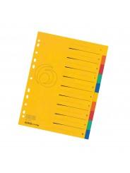 Herlitz Register · DIN A4 · Colorspan XXL · 10-teilig · 265 g/m² · 240 x 297 mm