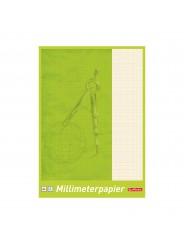 Herlitz Millimeterpapierblock · A4 · 80 g/m² · 25 Blatt
