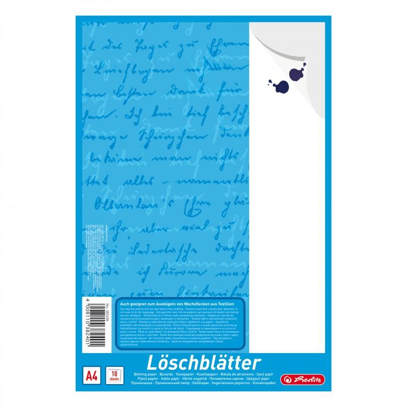 Herlitz Löschblattblock · A4 · 10 Blatt