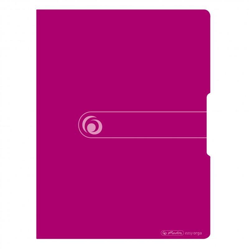 Herlitz Sichtbuch A4 · 20 Hüllen PP-Kunststoff · easy orga to go · beere