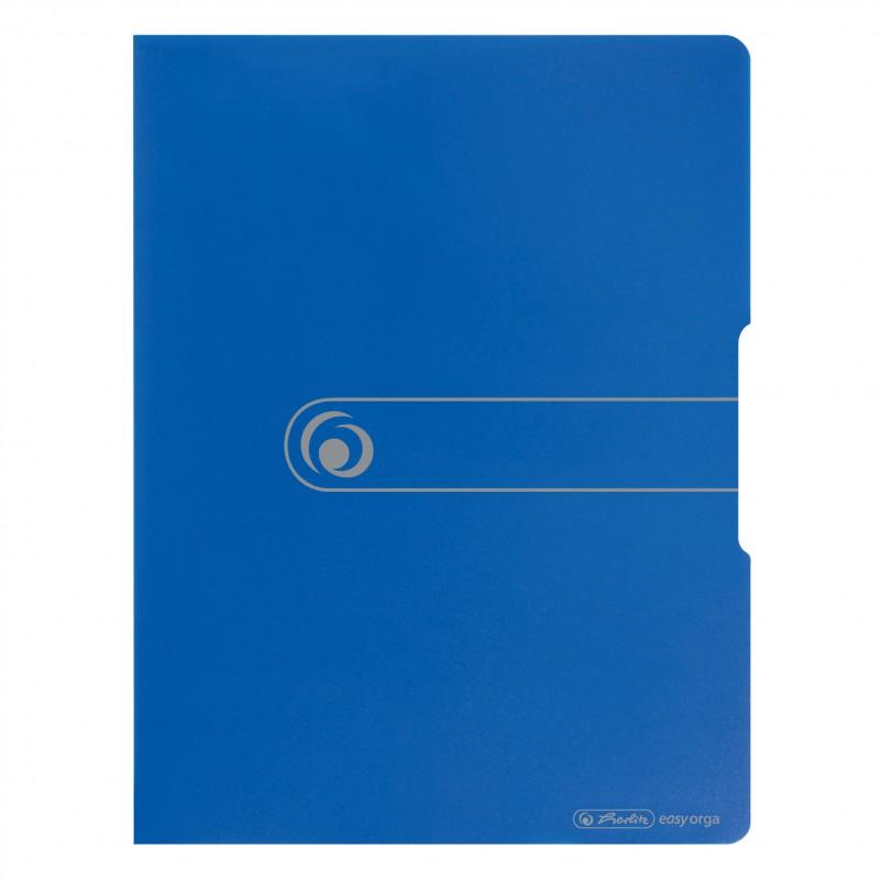 Herlitz Sichtbuch A3 · 20 Hüllen · PP-Kunststoff · easy orga to go · blau