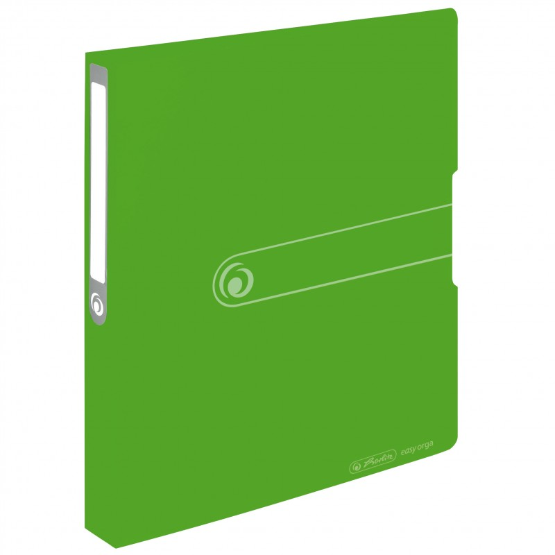Herlitz Ringbuch A4 · 2-Ring · 25mm Füllhöhe · easy orga to go · PP-Kunststoff · opak apfel