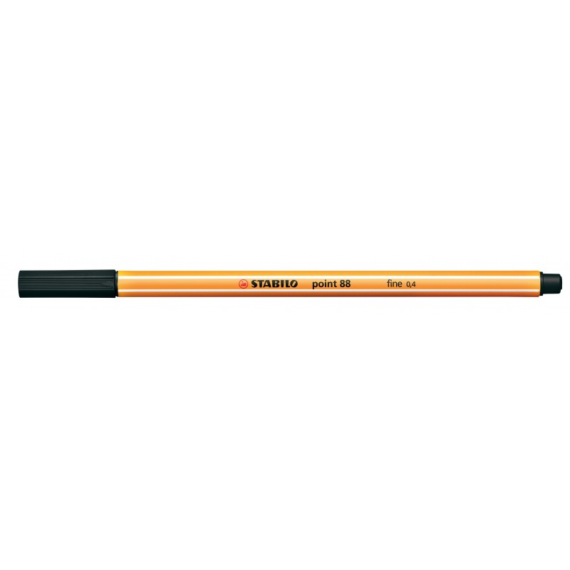 STABILO® Fineliner STABILO® point 88® · 0,4 mm · schwarz