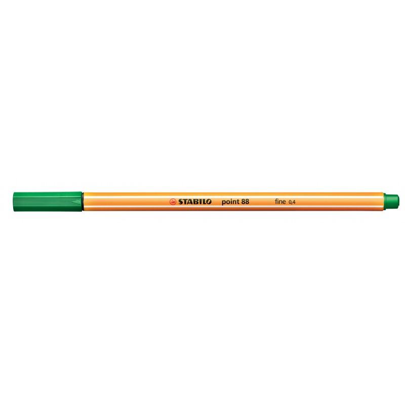 STABILO® Fineliner STABILO® point 88® · 0,4 mm · grün