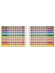 STABILO® Ergonomischer Dreikant-Buntstift STABILO® EASYcolors · 12er Etui · Rechts-/Linkshänder