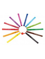 STABILO® Filzstift mit Kappenring STABILO® Cappi® · Kartonetui mit 18 Stiften
