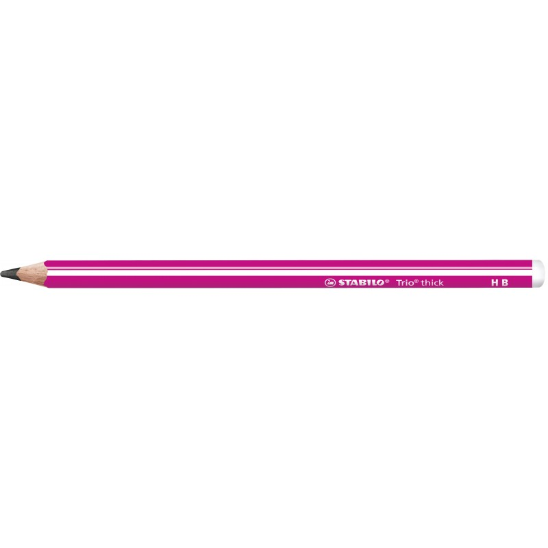 STABILO® Dreikant-Schulbleistift STABILO® Trio® dick · HB · pink