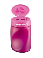 STABILO® Ergonomischer Dosenspitzer STABILO® EASYsharpener · pink · Rechts-/Linkshänder