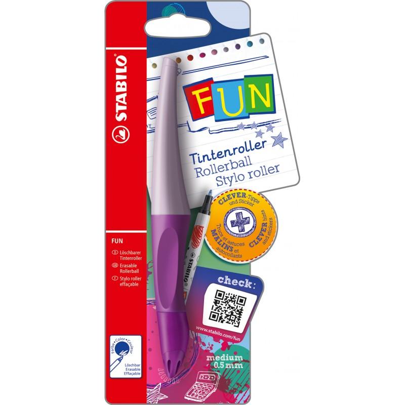 STABILO® Ergonomischer Tintenroller STABILO® FUN · lavendel lila/pastell lila