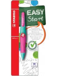 STABILO® Ergonomischer Druckbleistift STABILO® EASYergo 1.4 · türkis/neonpink · Rechts-/Linkshänder