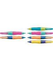 STABILO® Ergonomischer Druckbleistift STABILO® EASYergo 1.4 · neonlimonengrün/aquamarin · Rechtshänder