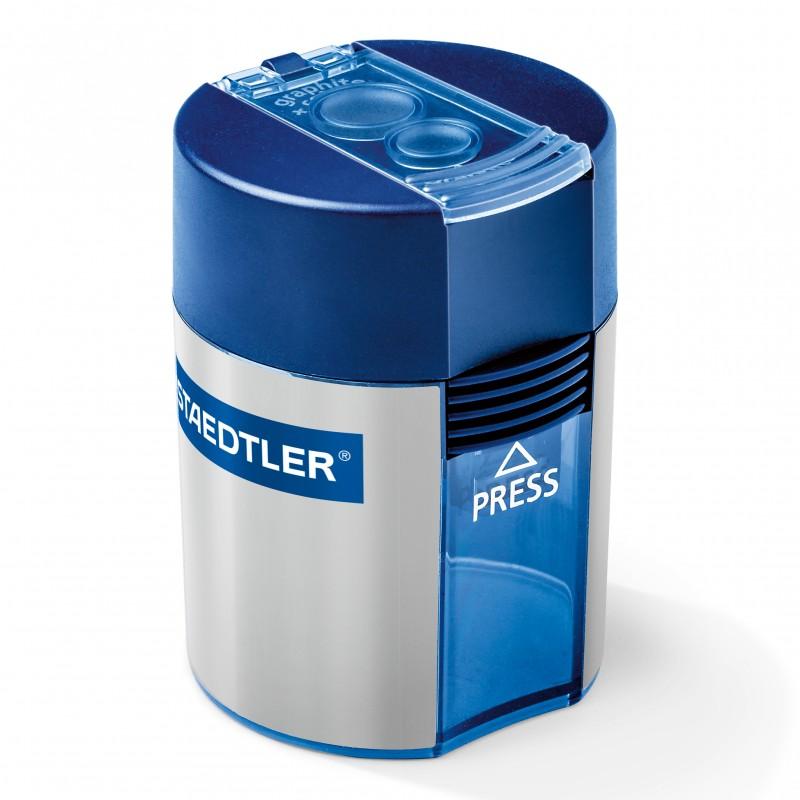 STAEDTLER® Doppel-Spitzdose · 512 001 · 8,2 mm Ø (dünn) · 10,2 mm Ø (dick)