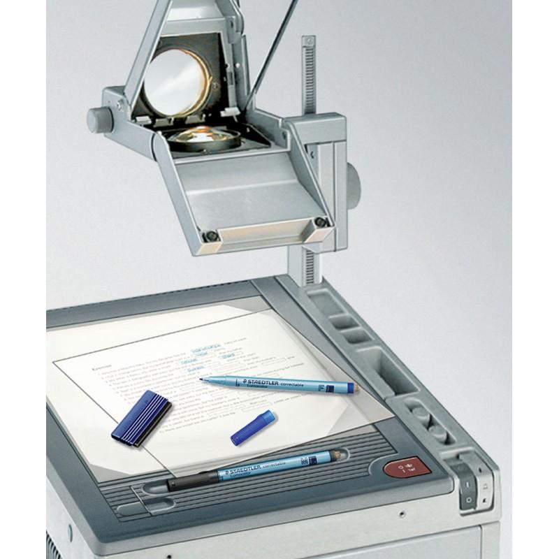 STAEDTLER® Folienstift Lumocolor correctable · F-Spitze ca. 0 ·6 mm · rot