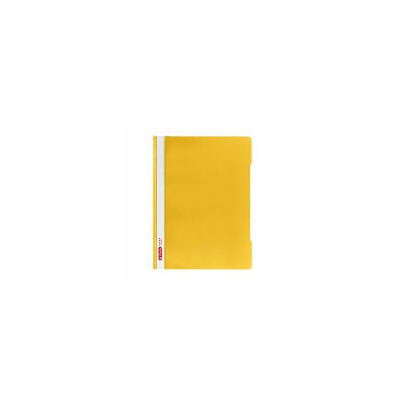 Herlitz Schnellhefter 'Quality' · DIN A4 · gelb
